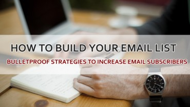 Ways to Increase Email Subscribers