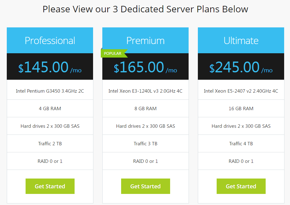 Miss Hosting Dedicated Server