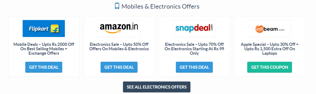 Online Shopping Coupons