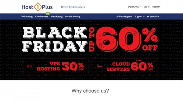 Host1Plus Black Friday Deals
