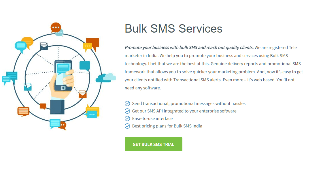 bulk SMS business plan