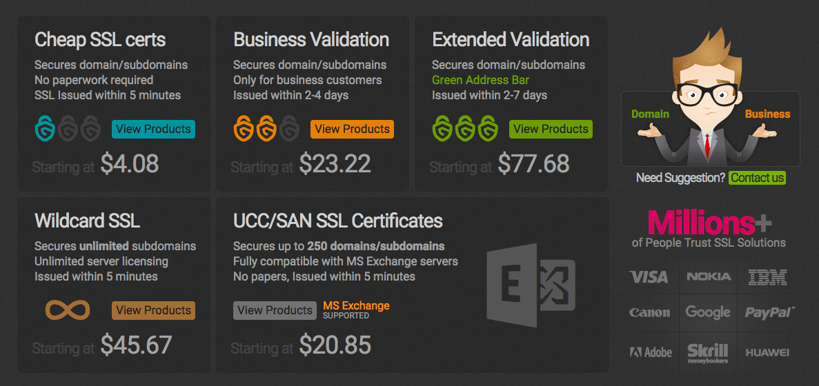 GoGetSSL Pricing (Review)