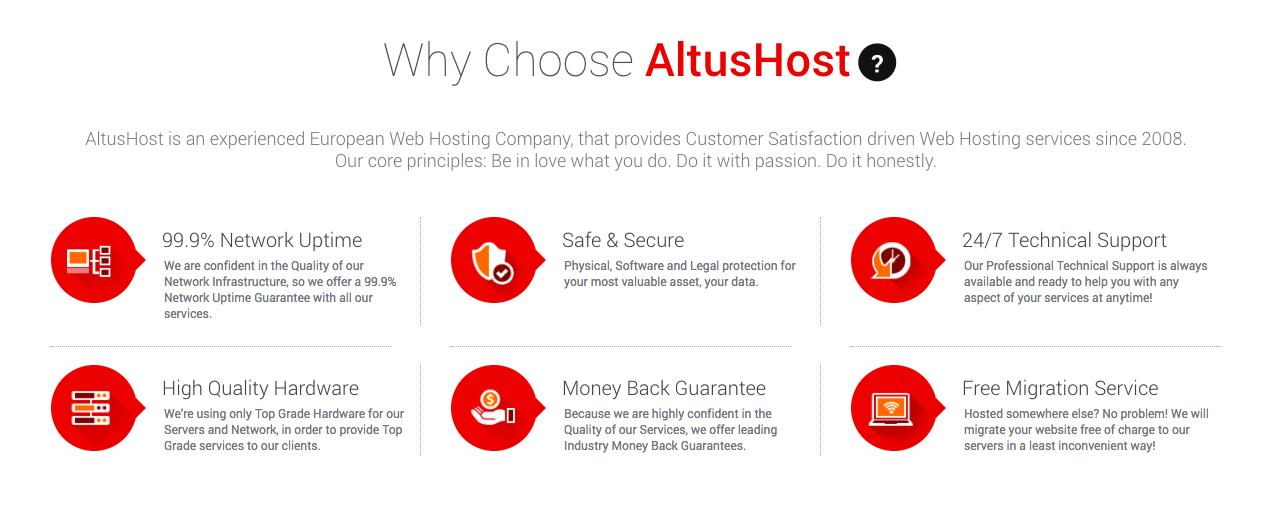 Why AltusHost