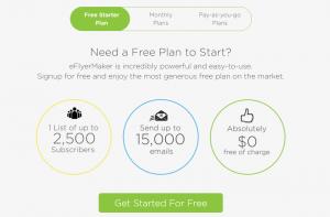 eFlyerMaker Free Plan