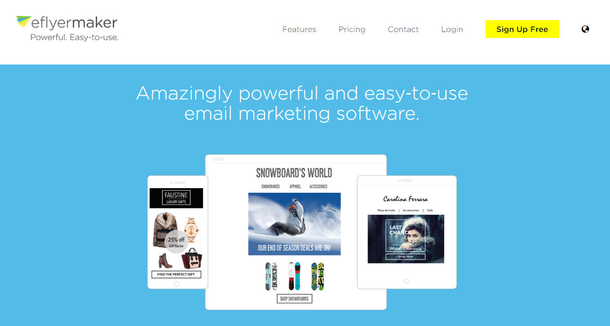eflyermaker review 2016 powerful email marketing tool