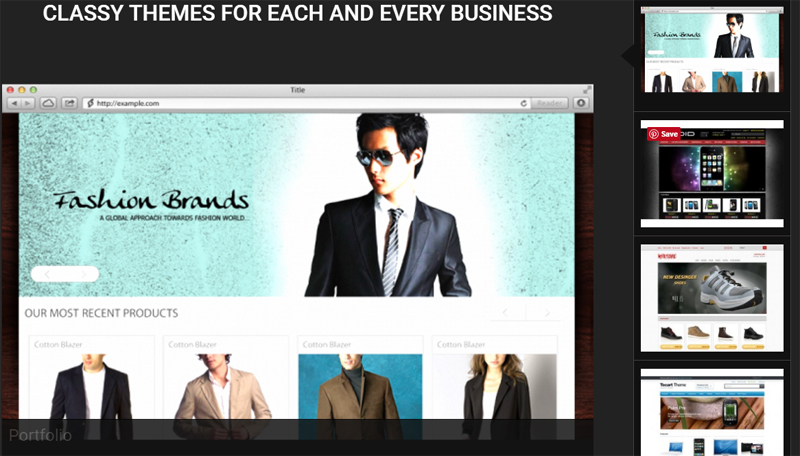eCommerce Site Buider