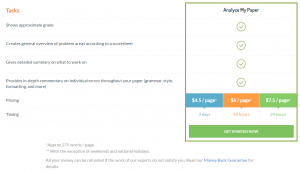 Analyze Academic Help Pricing (Review)