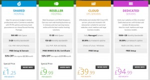 WebHost.UK.Net Pricing (Review)