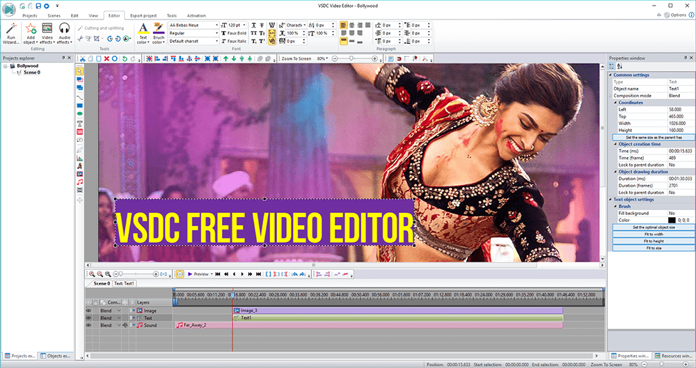 VSDC Review (Video Editor) - Best Free Alternative to Sony