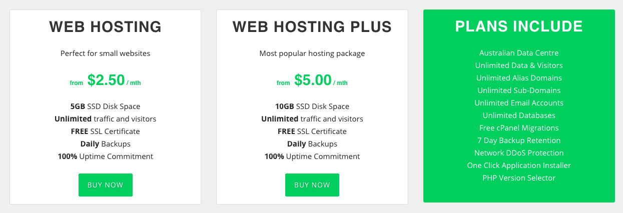 HostingCloud Pricing