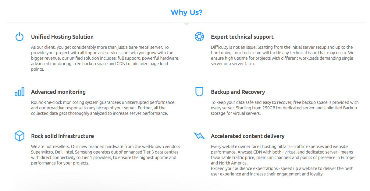 HostiServer Review (Features)