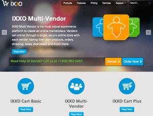 IXXO Multi-Vendor