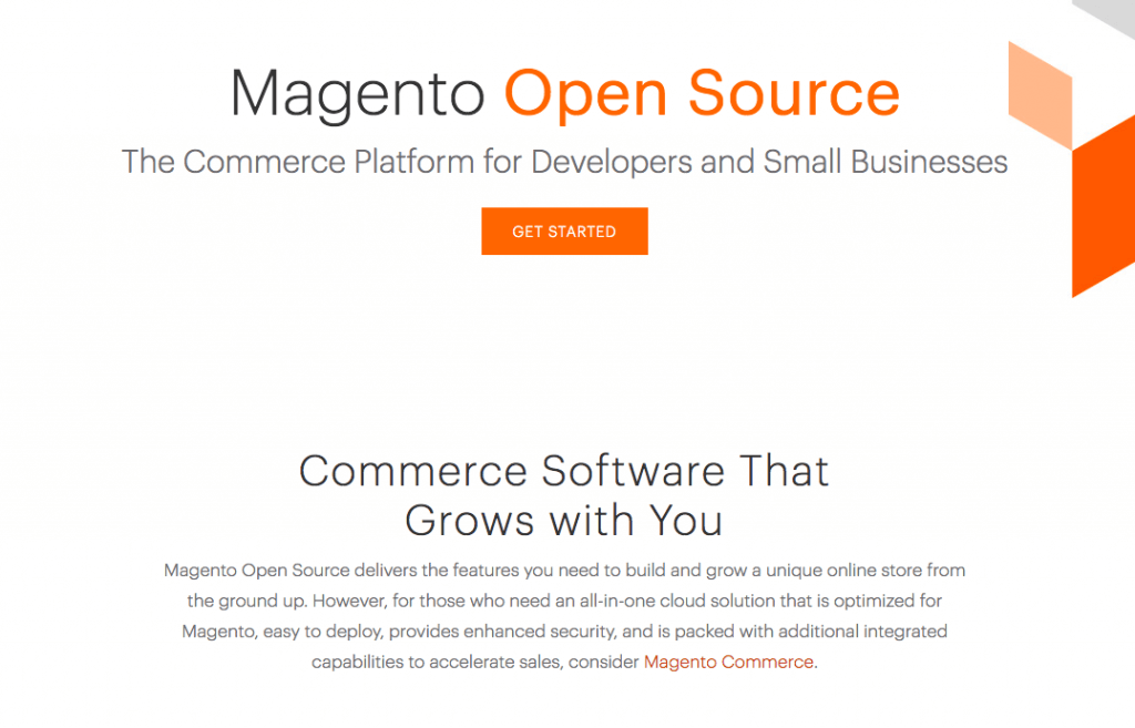 Magento - eCommerce Platform