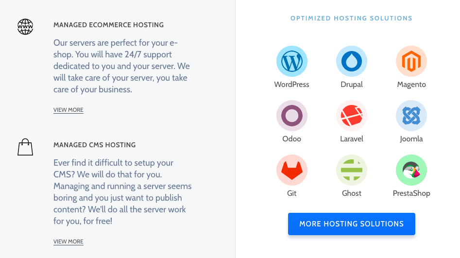 RoseHosting (Managed Cloud Hosting)