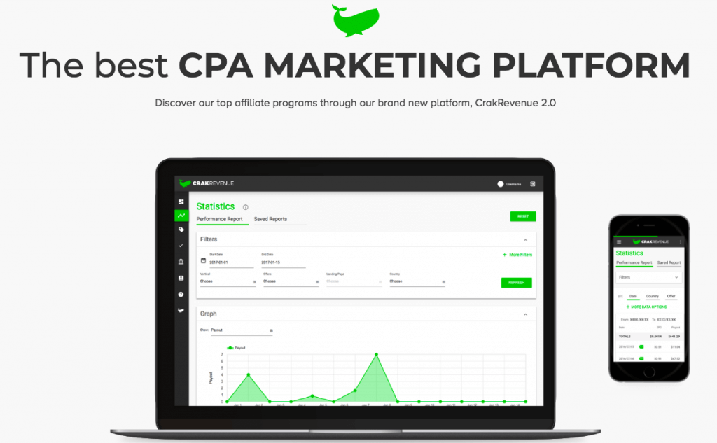 CrakRevenue - CPA Marketing Platform
