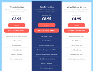 Brixly Hosting Pricing