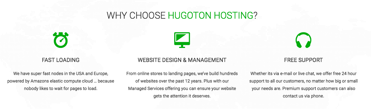 Why Choose Hugoton Hosting