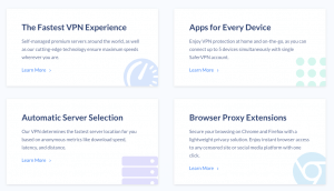Safer VPN Features (Review)