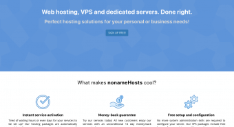 nonameHosts Review