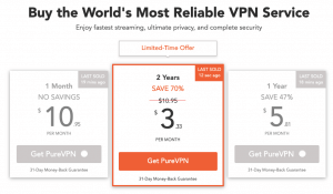 PureVPN Pricing (Detailed Review)